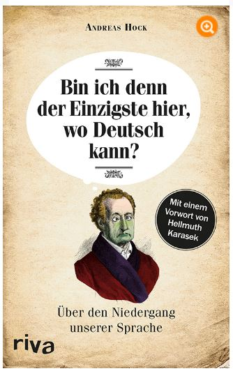 Buch:Bin ich der Einzigste der wo Deutsch kann?