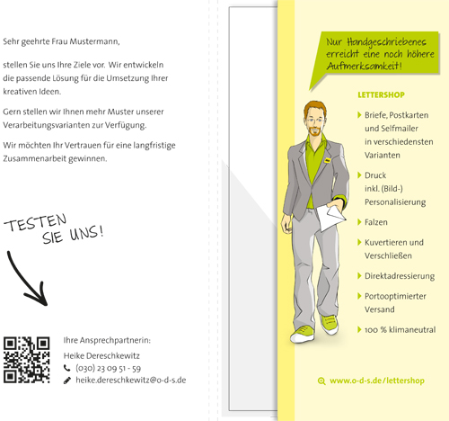 Text-Mailing-Mappe