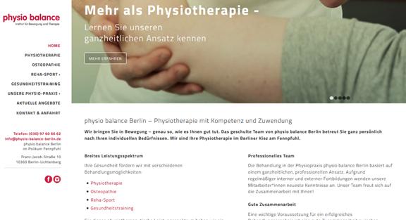 physio balance – Physiotherapie