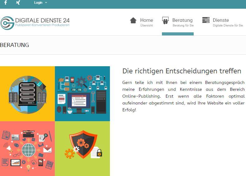 digitale dienste 24-internettexte