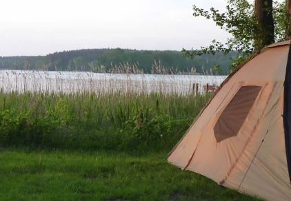 Campingplatz Ellbogensee - Zelt