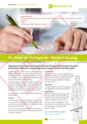 Text-Datenblatt